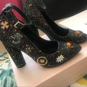Cape Robbin Glitter Heels